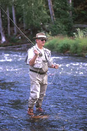 Alaska fishing russian river for Russian river fishing
